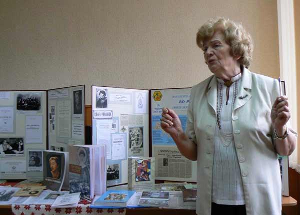 заступниця Союзу українок України пані Ростислава Федак